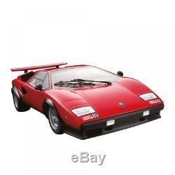 Lamborghini Countach 1/8 Diecast Car Model Lp500s Deagostini (new By Pieces)