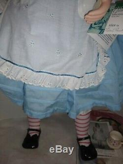 Large 36 Alice in Wonderland Doll Master Piece Gallery Limited Edition