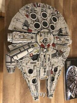 Lego Star Wars UCS Millennium Falcon 75192 Mint (Only Built Once) 7,500 Pieces