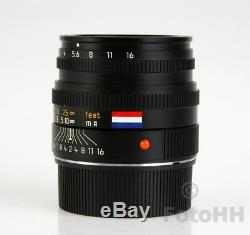Limited Edition Leica Summicron-m 12/50mm Dutch Flag Only 5 Pieces Ever Made