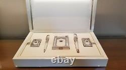 Limited Edition S. T. Dupont Taj Mahal 5 Piece Lighter and Pen Set #26/200