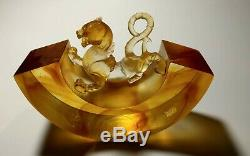 Liuligongfang, art glass piece A Rollicking World, A Progressive Heart