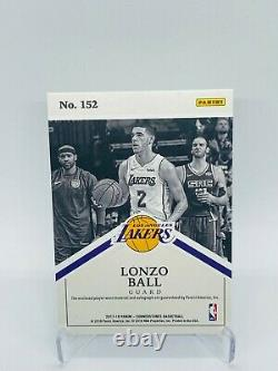 Lonzo Ball 2017-18 cornerstones On Card Rookie Patch Auto /199 RPA #152