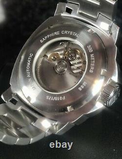 Lum-Tec M68 Automatic 44mm Sunburst Dial Limited Edition 175 Pieces 300m Diver