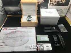 Lum-Tec M81 Swiss Automatic 44mm Black Dial Bracelet Limited Edition 100 Pieces
