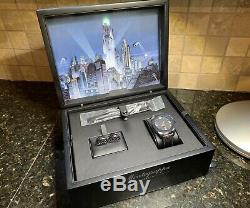 MONTEGRAPPA Ltd Ed Black Batman Rollerball 3 Piece Set (Pen, Watch, Cuff Links)