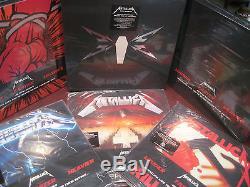 Metallica 45 Speed Collection Of 7 Titles 25 Pieces Of Vinyl + CD Rare Originals