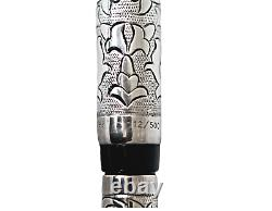 Michael Fultz for Parker Limited Edition Silver Fountain Pen/ 500 pieces