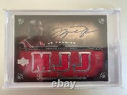 Michael Jordan 2007-08 Upper Deck Premier Attractions PA-J0 Jersey Auto 08/50