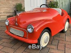 Morris Minor Junior Pedal Car Limited Edition One Of 56 Pieces Austin J40