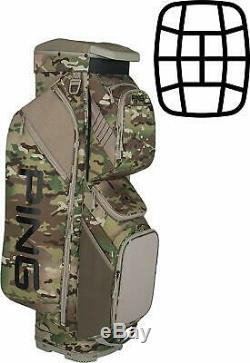 NEW Limited Edition Ping Traverse Camo Multicam USA Patch Cart Golf Bag