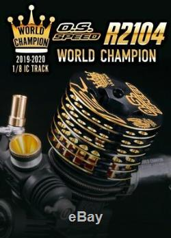 NEW! OS Speed R2104 World Champion WC Limited Edition 1/8 ON ROAD 300 Pieces