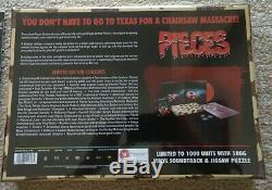 NEW! Pieces (1983) Arrow Limited Edition Blu-Ray Box Set Vinyl Soundtrack Jigsaw