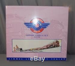 NEW in Box Lionel Girl's Set 6-31700 Train Model Railroad 7 Piece O Gauge