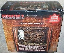 Neca Predator Trophy Wall Diorama Limited Edition 5000 Pieces Reel Toys Nm