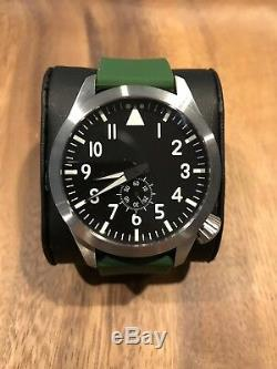New Maratac Large Pilot Arc Watch 1/50 piece limited edition military sterile