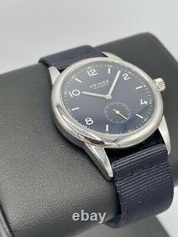 Nomos Glashutte Club II Yellow Timeless Edition Limited Edition 100 Pieces 38mm