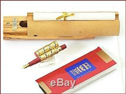 Omas Jerusalem 18k Gold 3000 Years Limited Edition 1996/ 500 Pieces