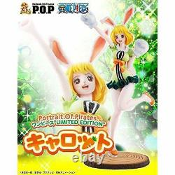 P. O. P Portrait. Of. Pirates ONE PIECE POP LIMITED EDITION Carrot Figure withTracking