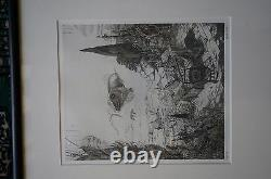 PHILIPPE MOHLITZ ETCHING Engraving Lot of 3x Les Grand Desordre RARE Art Pieces