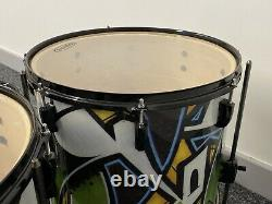 Pearl Drum Kit Vision Graffiti Limited Edition Birch 5 Piece Shell Pack