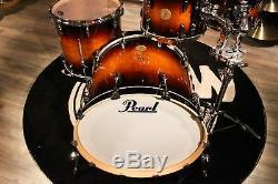 Pearl Master LTD Mahogany 4-piece Brooklyn Burst Drum Set (10-12-16-22) New