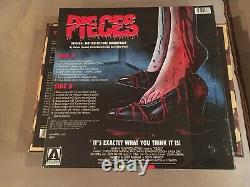 Pieces Deluxe Blu Ray Limited Edition Arrow With Puzzle OST Red LP NEW SEALED RARE