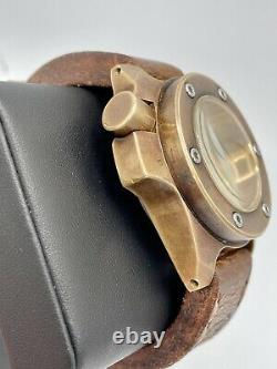 Piotr Ch Thunder Bronze Skull Dial Bronze Patina Piece Unique 46mm Automatic
