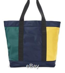 Polo Ralph Lauren SPORT Tote Bag Nylon Color Block Spell Out Limited Edition NWT