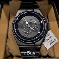 RARE SEIKO x GIUGIARO Chronograph SCED061 LIMITED 1500 pieces Wrist Watch Quartz