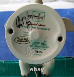 RARE WDCC Artist Signed FANTASYLAND 4 Piece Complete Set No 124 / 750
