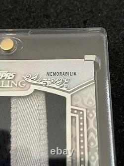 RONALD ACUNA JR. 2021 Topps Sterling Letter Patch J Game-Used 1/1 Braves