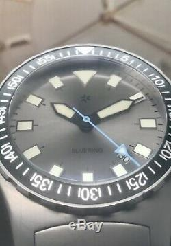 Rare Halios Bluering Limited Edition Swiss ETA Automatic 100 Pieces 44.5mm 300m