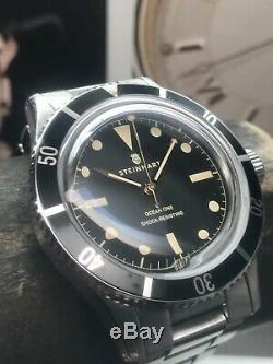 Rare Steinhart Ocean One Legacy Limited Edition 199 Pieces Swiss Automatic 42mm