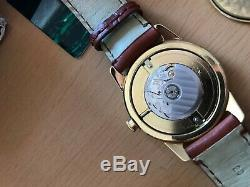 Rare vintage Bulova limited 100 piece edition 18k Frederic Piguet automatic move