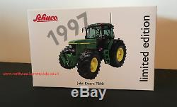 SCHUCO 132 SCALE John Deere 7810 1997 LIMITED EDITION 1000 PIECES WORLDWIDE