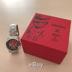 SEIKO ONE PIECE 20th Anniversary Watch Chronograph Quartz Japan Luffy twenties
