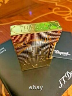 ST. DUPONT Lighter TRINIDAD / Limited Edition 300 pieces / Extremely rare