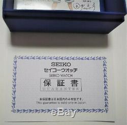 Seiko One Piece Anime 20th Anniversary Ltd 5000 Box Men Watch Chrono Blue Japan