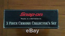 Snap On 3 piece Chrome Collectible Series MT55