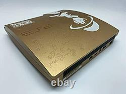 Sony PlayStation 3 PS3 One Piece GOLD 320GB Console LIMITED Edition Fedex Ship