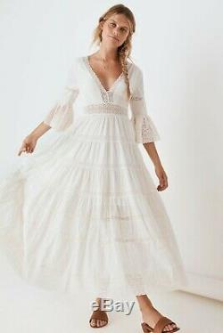 Spell And The Gypsy Limited Edition Tuula Gown In White Size Xs (x-small) Bnwt