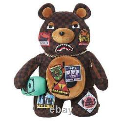 Sprayground TRAVEL PATCH TEDDY BEAR BACKPACK 910B2760NSZ BAG SOLD OUT
