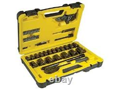 Stanley Tech3 Limited Edition 1/2 inch Drive 61 Piece Socket & Accessory Set