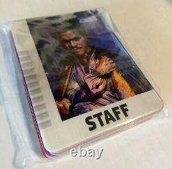 Star Wars Celebration Anaheim 2020 Commemorative 17-piece Badge Set Ltd Ed. 500