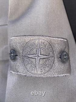 Stone Island Limited Edition Water Repellant Wool Ghost Piece