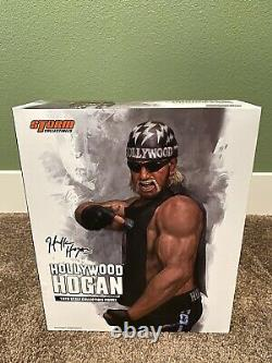 Storm Collectibles Hollywood Hogan Limited Edition 500 Pieces Made 12 1/6 16