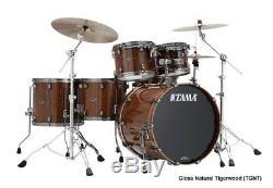 Tama LTD Starclassic Performer B/B Exotix 5 Piece Kit in Gloss Natural Tigerwood