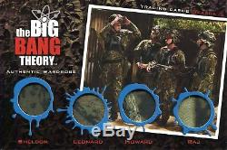 The Big Bang Theory Season 5 Ultra Rare OZ. 4 Piece Wardrobe Card OM14 Ltd 25