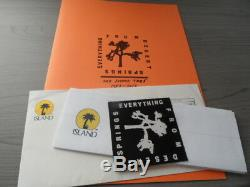 U2 Fanzine 116/1500 + super limited edition patch Island records The Joshua Tour